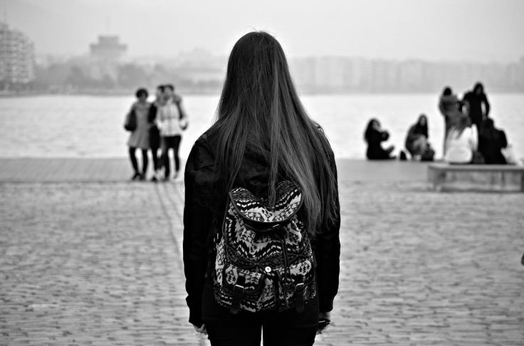 #PortOfThessaloniki #Greece #lonliness #black'n'white