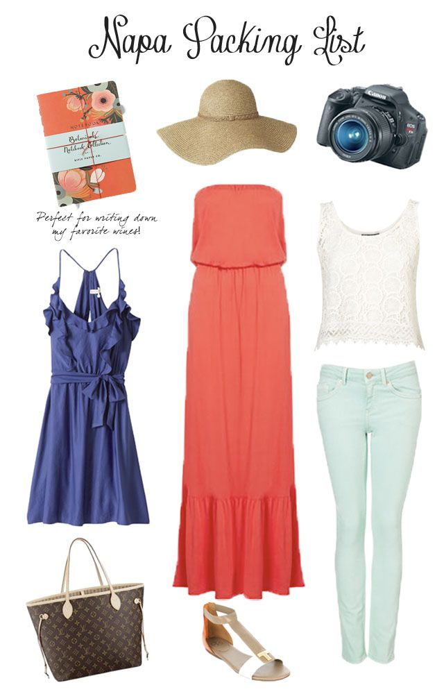 The Peak of Tres Chic: Napa Packing List