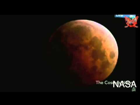Blood Moon:Total Lunar Eclipse October 8,2014 Time Lapse Full Video by NASA - YouTube #BloodMoon #Eclipse #Video