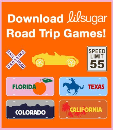 Free Printable Road Trip Games for the kids during the next RV road trip!    RVing, RV road trip, RVing with kids, RV vacation