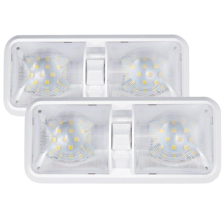 Kohree 12V Led RV Ceiling Dome Light RV Interior Lighting for Trailer Camper ...