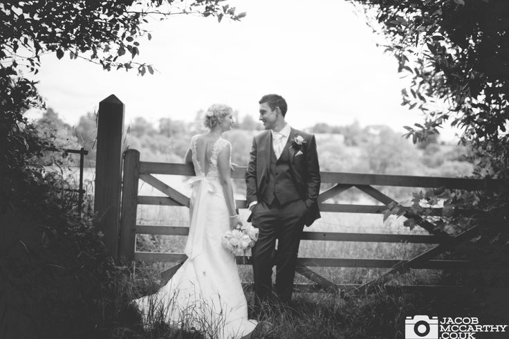 Bride and groom at Orchardleigh House. Beautiful wedding photography by Jacob McCarthy. See more work at www.jacobmccarthy.co.uk