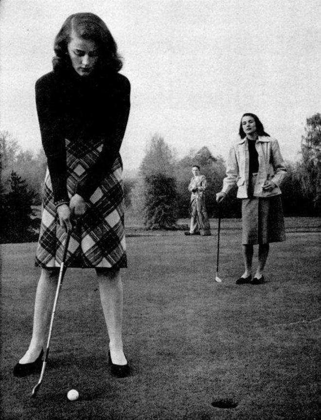 golf gals  http://www.annabelchaffer.com/categories/Country-Pursuits/