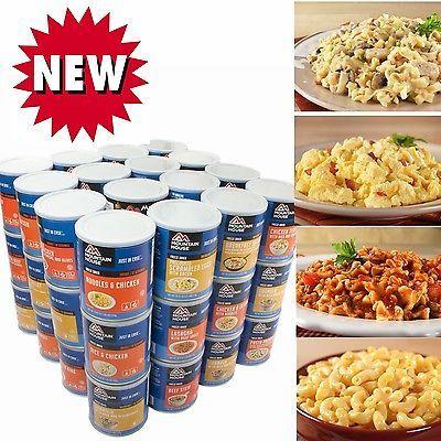 1-Year Survival Food kit-Mountain House Foods,Breakfast,Dinner,Desserts
