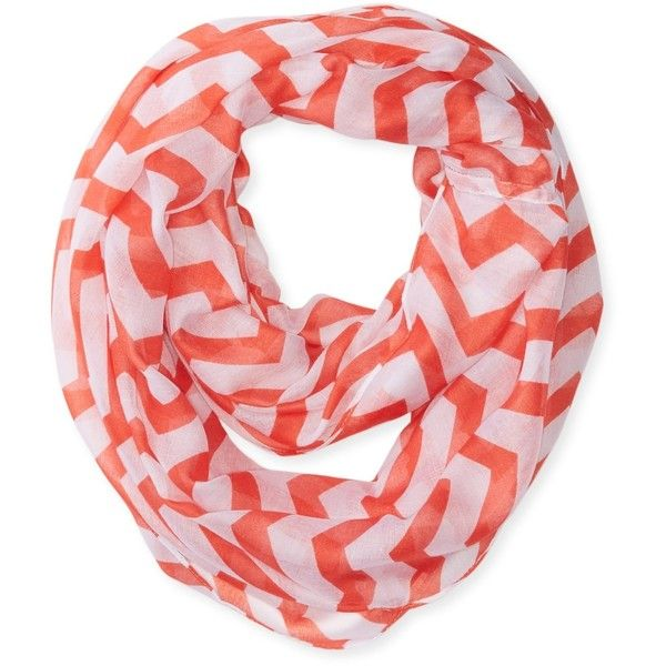 Jules Smith Women's Chevron Scarf (60 BRL) ❤ liked on Polyvore featuring accessories, scarves, jules smith and chevron scarves
