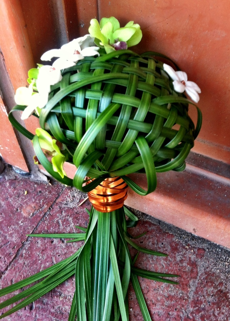 Lily Grass and Copper. Super unique bouquet! #moabflowers #moabweddings