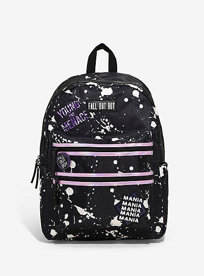 9616d701d3b2 Fall Out Boy Paint Splatter BackpackFall Out Boy Paint Splatter Backpack