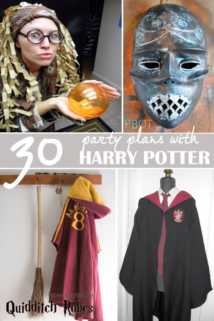 30+ Magical Harry Potter Inspired Crafts and Activities for Your Next Wizarding Party