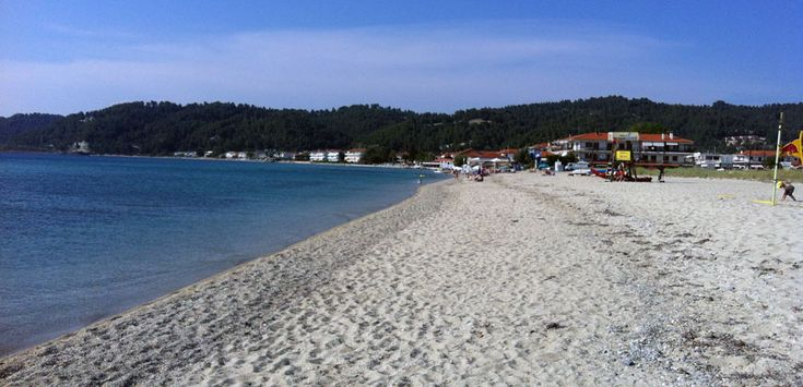 View of Fourka beach  #Halkidiki #Kassandra #Greece #travel
