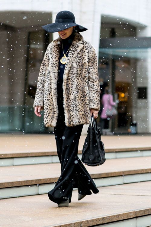 New York Fashion Week - Best streetstyle looks (18) - Elle.ro