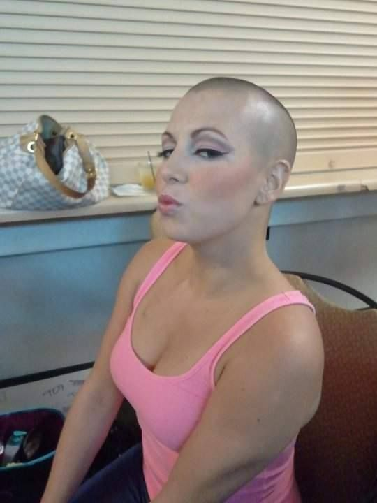 NUDE TEEN GIRL WITH SHAVED HEAD amusing topic