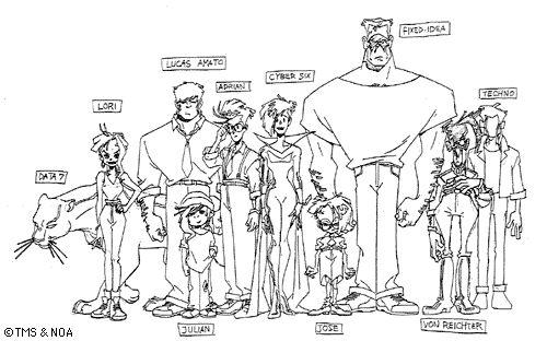 Cybersix Cast of Characters