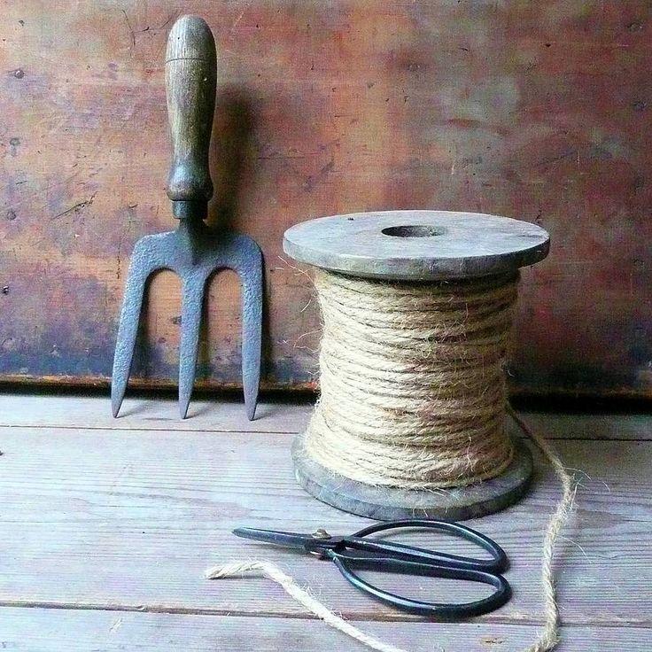 Garden String Bobbin And Scissors