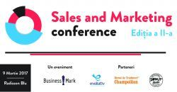 Sales & Marketing Conference, 9 martie 2017, Bucuresti