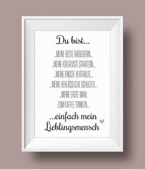 Digitaldruck Beste Freundin Kunstdruck Von Einsaushundert