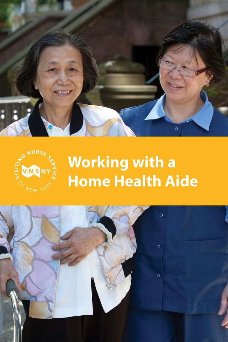Find out what a home health aide can and cannot do and