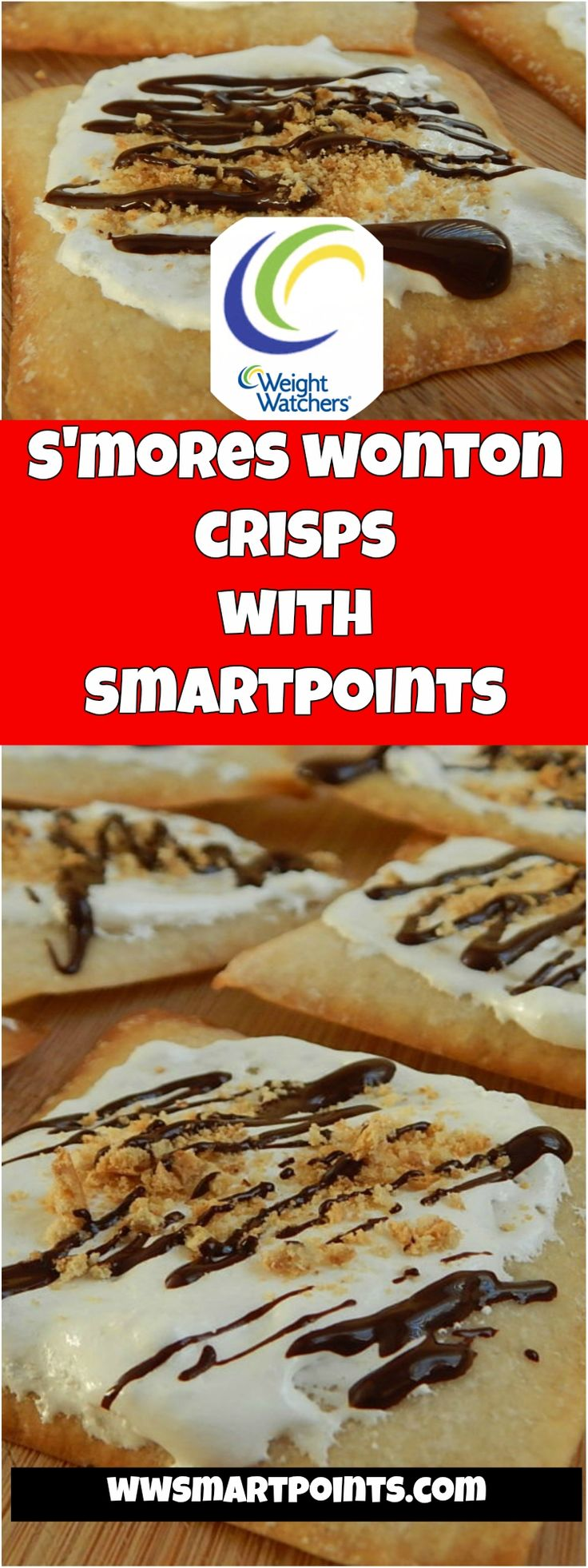 S'mores wonton crisps 1 weight watchers smartpoints