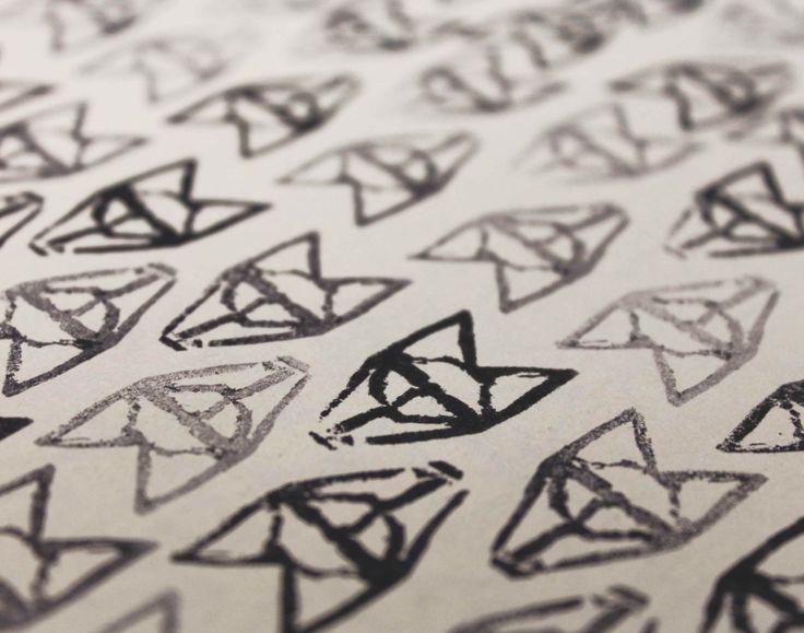 #Stamp #Fox #Handmade #IDP #Visual #BenedettaSimone
