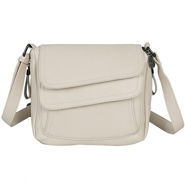 White summer bag leather handbags women bags women shoulder messenger bags sac a main femme