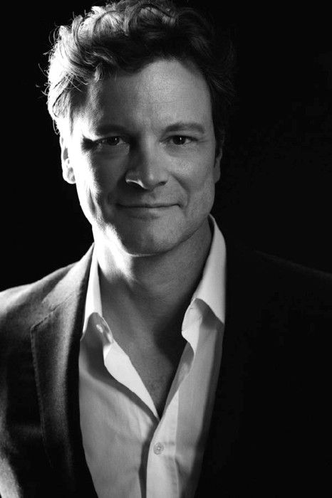 Colin Firth. A true British gentleman and he is very handsome in person, not to mention being a fantastic actor.