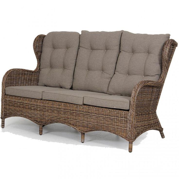Evita soffa brun av Brafab