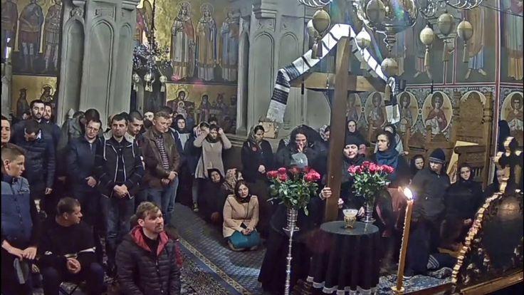 Denia celor 12 Evanghelii la Mănăstirea Putna (fragment)