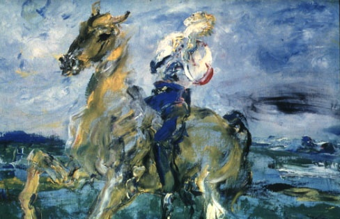 Jack Yeats - The Singing Horseman
