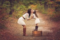 Mother daughter fall photo shoot - Google Search