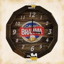 Relogio Tampa De Barril Cerveja Chopp Brahma