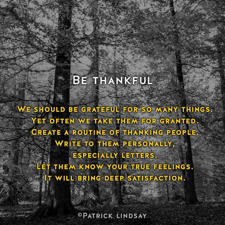 Be thankful #inspiration #highhopes #makethemostofyou  High Hopes: http://goo.gl/OMpfvh