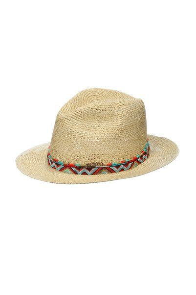Chapeau Hipanema for Amenapih 85€ http://www.monshowroom.com/fr/zoom/hipanema-for-amenapih/chapeau-de-paille-avec-perles-et-tissage-ecuador/161134