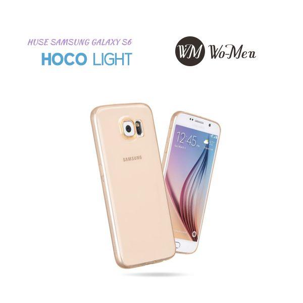 Achizitioneaza husa pentru noul tau Samsung Galaxy S6  HOCO Light Transparent, ultraslim!
