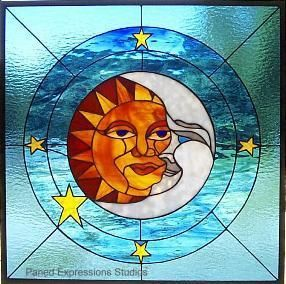 A Ha Stained Glass Window  S Stars