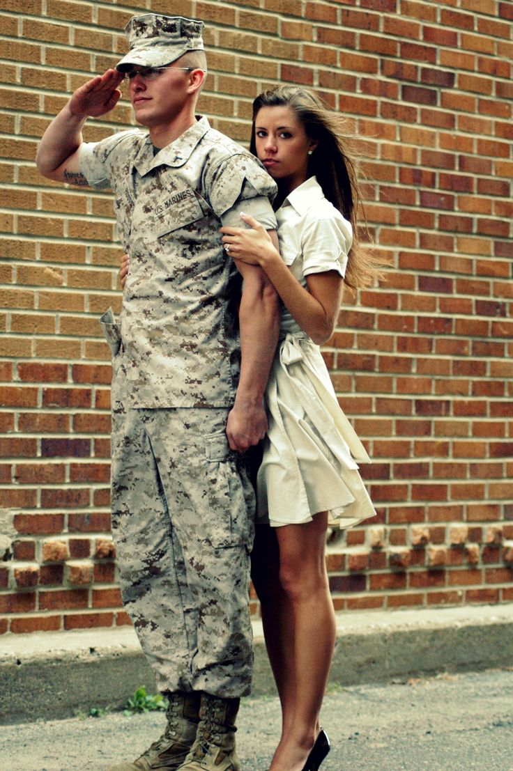 dating a marine man