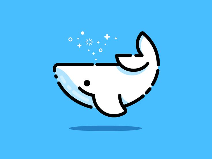 Whale by MBE - Dribbble