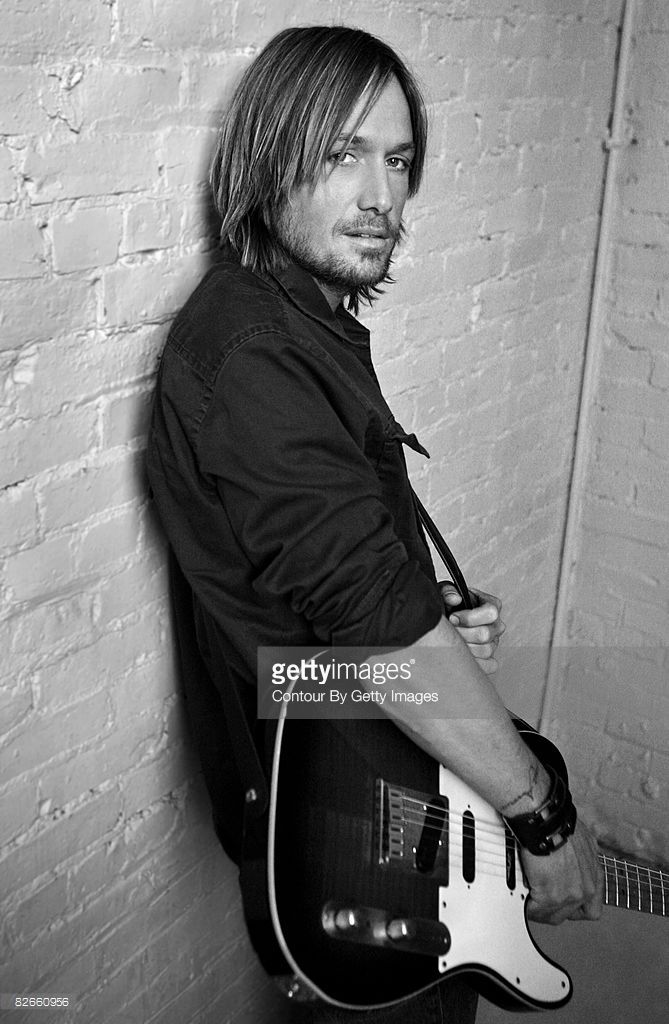 Country singer Keith Urban is photographed at a portrait session.