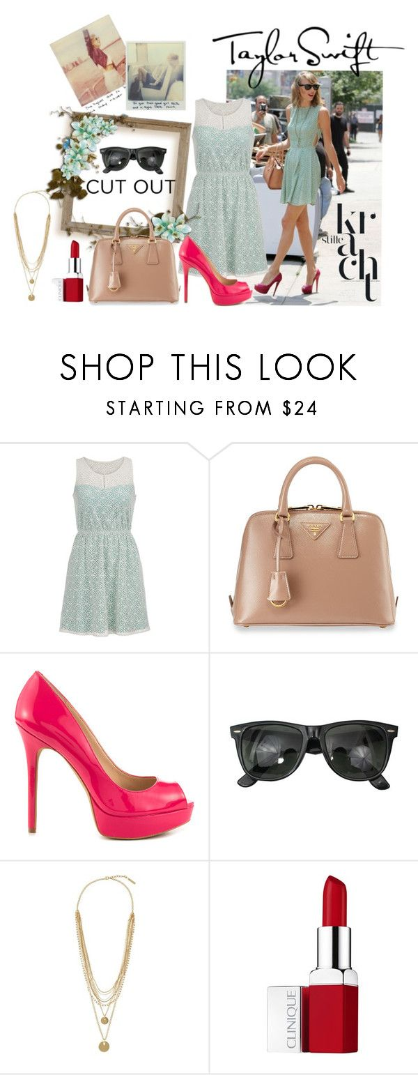 Taylor´s Cut by iris234 on Polyvore featuring maurices, Vince Camuto, Prada, Ray-Ban and Clinique