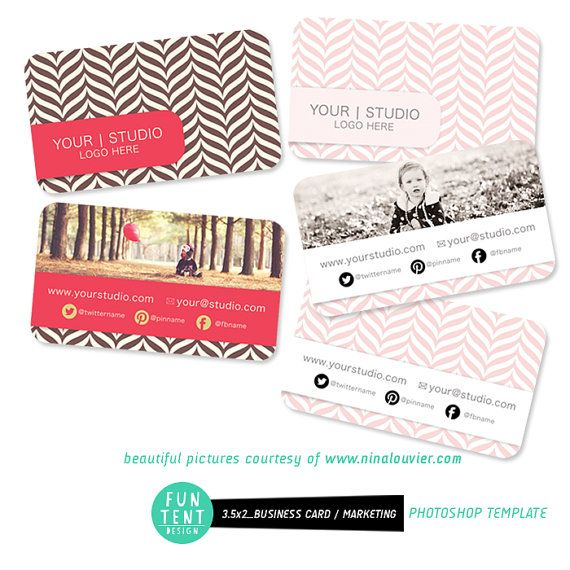 3.5 x 2 Photography Modern Business Card by FUNTENTDESIGN on Etsy, $8.00