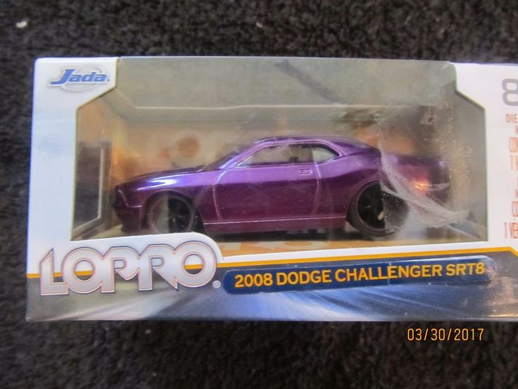 2013 LOPRO 2008 DODGE SRT8 CHALLENGER 1/64TH SCALE DIECAST METAL CAR - PURPLE #JadaToys #Dodge