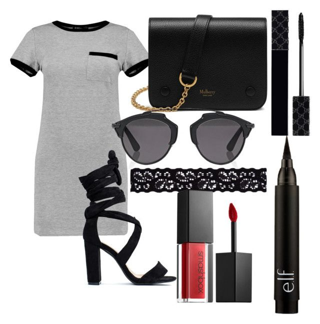 """#21"" by mercedes93 on Polyvore featuring MARA, Mulberry, Christian Dior, Akira, Smashbox and Gucci"