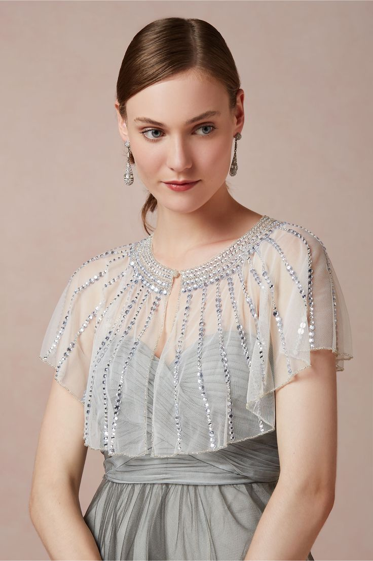 Vivien Capelet in  Shoes & Accessories Cover Ups at BHLDN