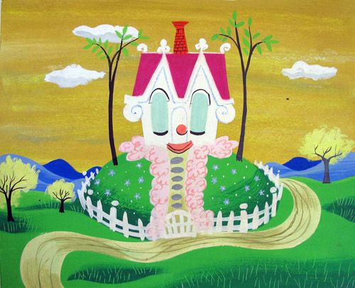 Little House, 1952 | Illustrator: Mary Blair