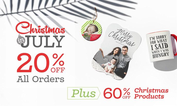 Last Day Of Christmas In July Sale! 20% Off All Orders & 60% Off Christmas Products.