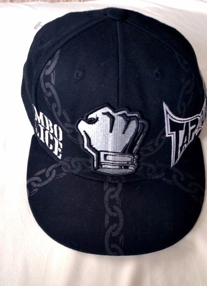 TAPOUT KIMBO SLICE (RIP) UFC BLACK CAP HAT SIZE S\M #Tapout