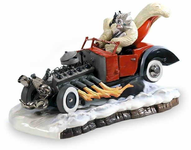 18 best WDCC 101 Dalmatians images on Pinterest | Disney ... Cruella Deville Car Disney