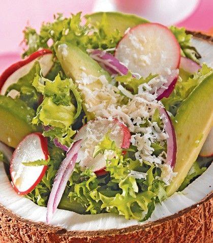 Prepara una ensalada súper original para sorprender a toda tu familia.