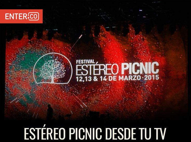 Si no pudiste asistir al Festival Estereo Picnic vas a tener la oportunidad de disfrutarlo muy pronto desde tu televisor. http://www.enter.co/cultura-digital/entretenimiento/asi-vas-a-poder-vivir-y-revivir-el-estereo-picnic-desde-tu-televisor/