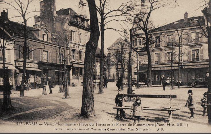 place du Tertre 1900 - Paris 18e