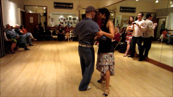 Tango Lesson: Two Foot Swivel from Back Ocho