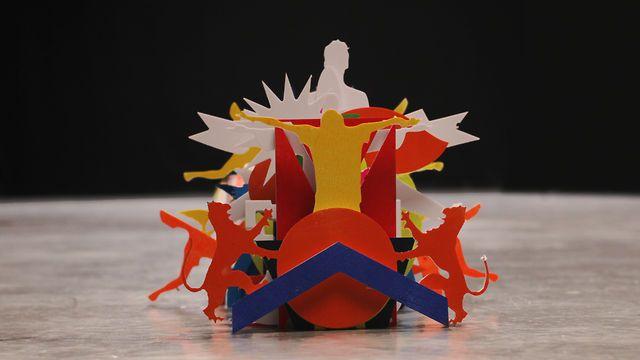 "Shugo Tokumaru ""Katachi"" by Kijek / Adamski. 2013"